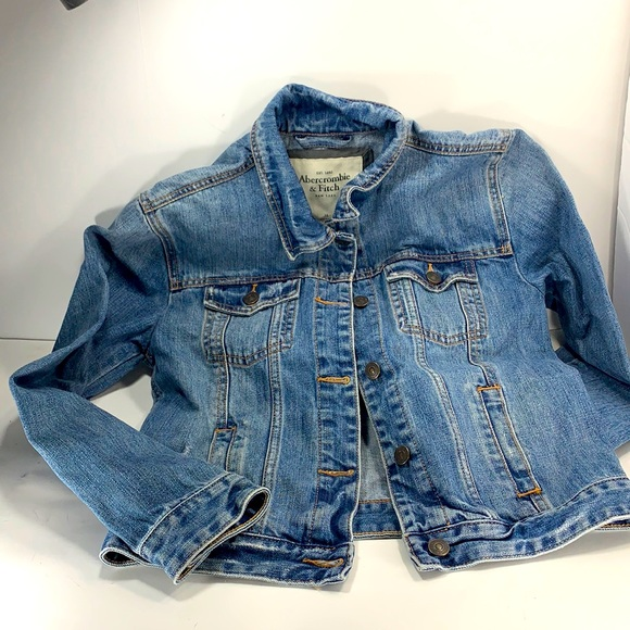Abercrombie and Fitch women's denim jacket size Cw